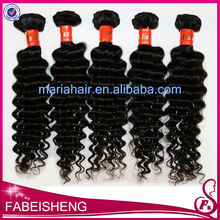 Best price 5A 6A grade double drawn big curly 100% unprocessed hair extensions children