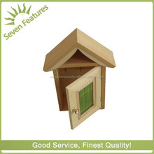 mini house educational wood toys newest promotional business gift