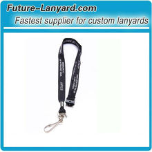 Personalized screen printed corporate lanyards ID card holders lanyard