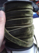 plain Fabric Type and Ribbons Product Type nylon velvet
