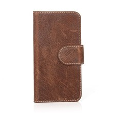 Well-selling Leather phone case for Iphone 6 with magnetic link