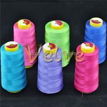 20/4 5000 yard polyester core manufacturer spun sewing thread yarn