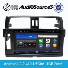 D90-9009 android 4.4.2 car dvd with GPS navigation system car radio with 3G wifi mp3 mp4 for Prado 2010-2015 car audio