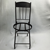 Minimalist metal frame folding chairs
