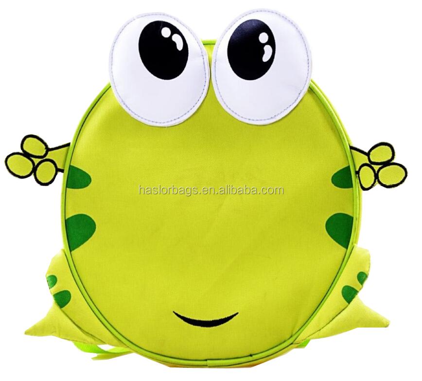Enfants cadeau de fête d'anniversaire sacs avec Frog Design