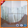 10mm 12mm safty tempered glass fence panels