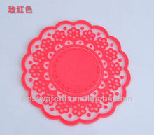 2012 2013 hotel/resaurant/household pvc woven dining table mat/dinner placemat