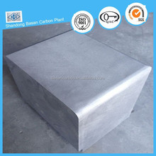 artificial graphite block for wearing resisting material and lubricant