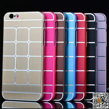 New Arrival Grid pattern protective case for iPhone6