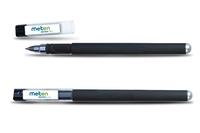 black gel ink pen / promotional office gel pen / cheap rubber gel pen