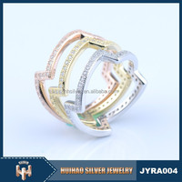 China factory wholesale 925 gold ring