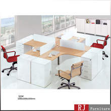 Panel end 4 way Teaming Office workstation with double pedestal! The top selling in its line.