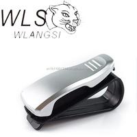 AUTO CAR VEHICLE VISOR GLASSES SUNGLASSES CARD TICKET MNI HOLDER CLIP