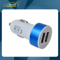 2.1A USB Mini Car Power Charger Adapter Plug for Apple and Samsung Device