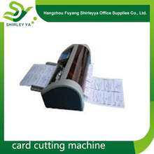 China direct sell brand new automatic business card cutter