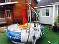 Toda la venta de donut asador barco para el parque& costeras