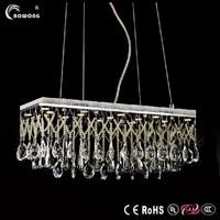 modern ring led crystal pendant lighting,new stainless steel lighting