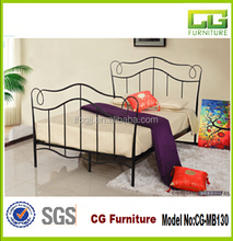 2015 hot sale cheap metal bed frame fabrication of metal bed