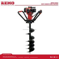 gasoline earth auger driller RM-ED49B,hand drill machine heavy duty