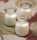 Preço barato por atacado pequeno Leite garrafa De Vidro com tampa, Frascos de vidro para o leite, Mel, Pudim