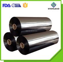 Competitive factory price 20 micron metallic BOPP film metalized OPP film roll