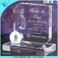 Acrylic Pedestal Trophy, Acrylic Plaque