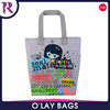 Cute canvas tote bag for school girl