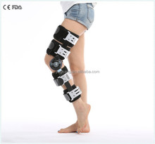 ROM Motion Control POST-OP Hinged Knee Brace / new type adjustable knee support / therapy knee pain knee brace pad
