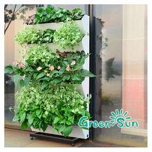 DIY hydroponics vertical garden artificial outdoor flower pots