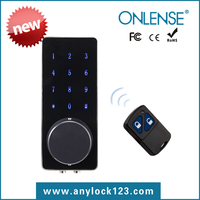 Intelligent RFID Door Lock Unlock Via Remote Control Button+RFID Card+Mechanical Key Suitable For Home