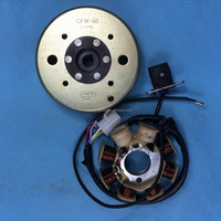8-Coil Magneto Stator GY6 50cc Scooter Moped Alternator
