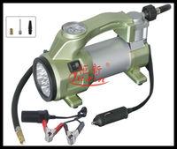 12V tyre inflator/portable car air compressor