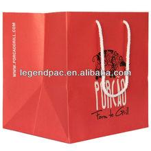 Ecofriendly paper shoe packaging bag