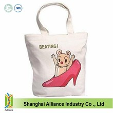 Customized Cotton Canvas Tote Bag / Cotton Tote Bags Promotion / Wholesale Recycle Organic Cotton Tote Bags