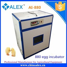 Best seller full automatic chick egg hatch machine hatching 880 eggs With reasonable price