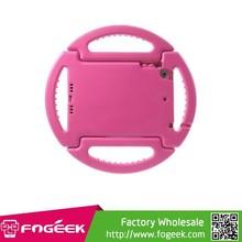 Double-handle Steering Wheel EVA Foam Stand Case for iPad Mini / iPad Mini 2 Shockproof