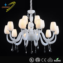 Hot sales modern restaurant ceiling light fixtures bended crystal ceiling light fixtures GZ40183-10+5P