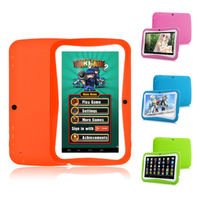 "8GB 7"" Quad Core Android 5.1 Kid Tablet PC for Children Dual Cameras"