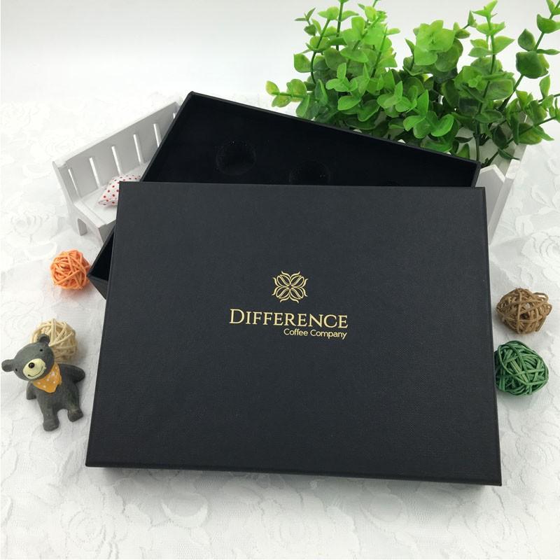 black kraft paper box