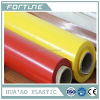PVC PLASTIC NORMAL CLEAR COLOR TAANSPARENT FILM