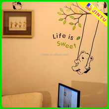 Decorative decorative decals for furniture /wall decal home wall decor