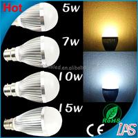 Zhongshan factory best price 3x1w AC110v/120v/220v/240v E14 E27 B22 high power bulb lamp 8mm led diode