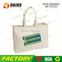DK164 10oZ canvas tote bags for shopping