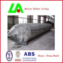 Longao Heavy duty marine rubber airbags export to Batam shipyard