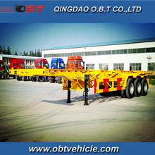 40ft skeleton trailer manufacture price new design