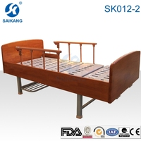 SK012-2 Saikang Home Care Manual Adjustable Bed & Nursing Care Bed With Rubber Feet
