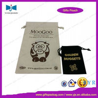 White custom organic cotton tote bag for shopping