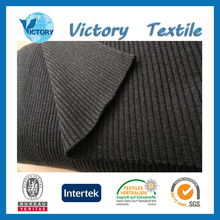 Rib Knitted Tube Fabric of 100 cotton for T-Shirt