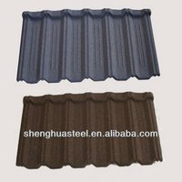 Yiwu Colorful Stone Coated Steel Roof Tile/Factory Wholesale Price