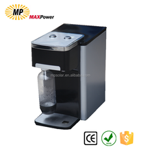 PET Bottle Gas Cylinder Desktop Installation Soda Water Cooler with filter